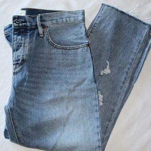 PacSun Destroyed Girlfriend Jeans